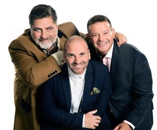 George Calombaris, Gary Mehigan and Matt Preston
