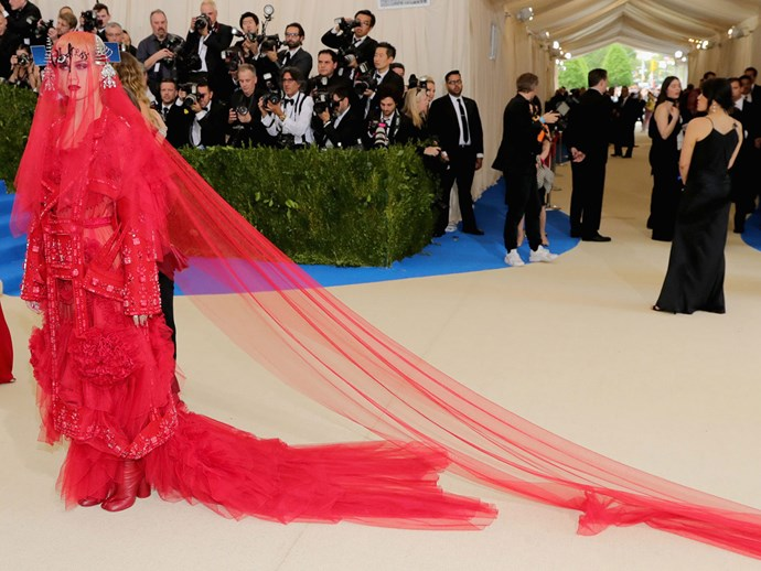 Katy Perry met gala 2017