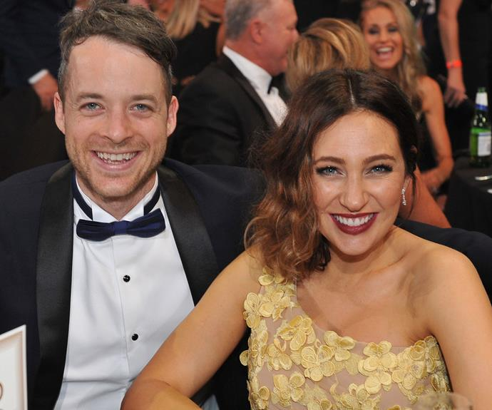 """""""I'm just looking forward to falling in love,"""" Hamish has said of baby number two."""