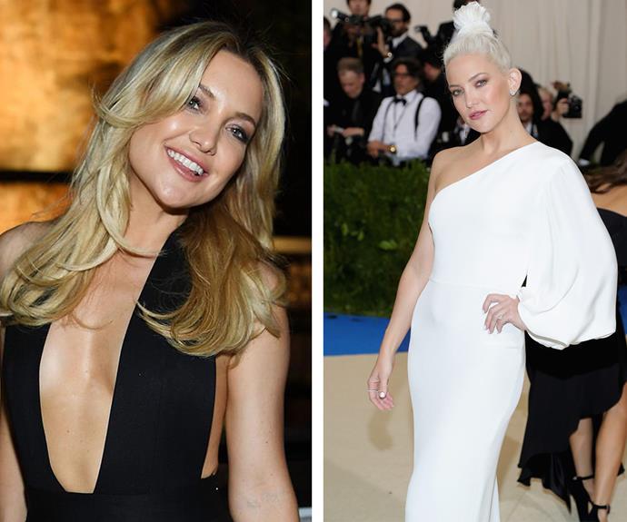 Hair transformations 2017 Met Gala