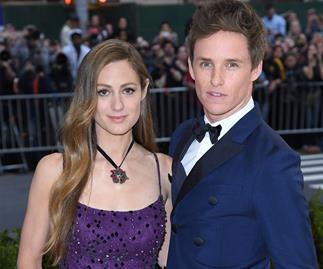 Eddie Redmayne and Hannah Bagsahw