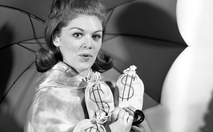 vintage 1960s money