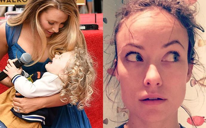 8 celebrities get hilariously real about motherhood