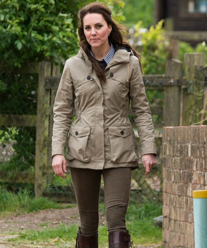 There's no doubt about it... Kate knows a thing or two about farmer-chic!