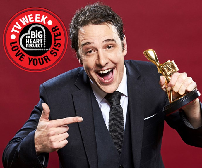 Gold Logie Winner Samuel Johnson