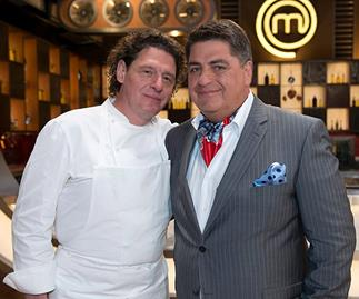 Marco Pierre White's explosive outburst about former co-host Matt Preston