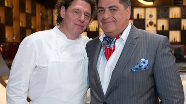 Master chef Marco Pierre White's explosive outburst about former co-host Matt Preston