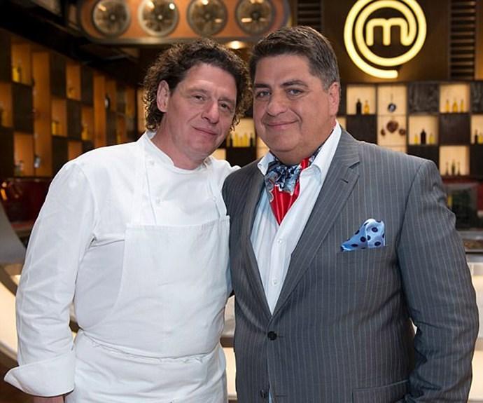 Matt Preston and Marco Pierre White