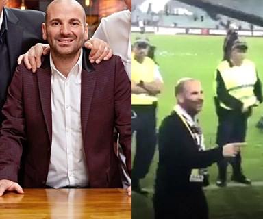 UPDATE: MasterChef's George Calombaris charged with assault over A-League grand final altercation