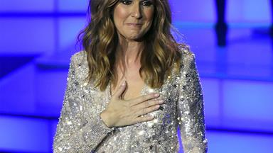Somebody fetch us our blue diamond necklace... Celine Dion is doing a Titanic special