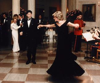 Princess Diana and John Travolta