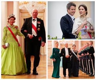 Norway's King Harald and Queen Sonja celebrate their birthdays with a dazzling array of royals