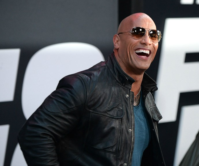 Dwyane 'The Rock' Johnson. Photo: Getty Images