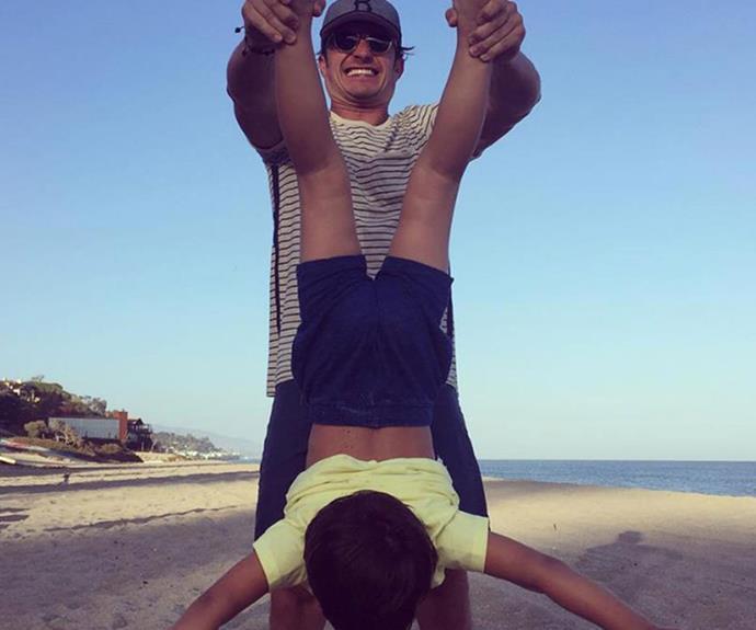 Orlando Bloom pens beautiful tribute to son Flynn