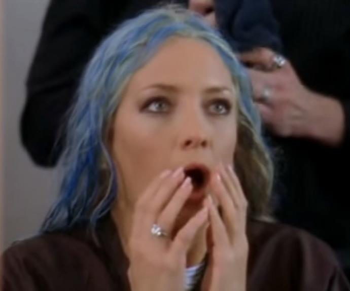 kate hudson blue hair bride wars