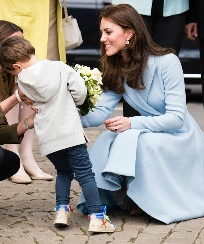 Jil Schleck, the boy's mother, said it was clear the Duchess is a mother.