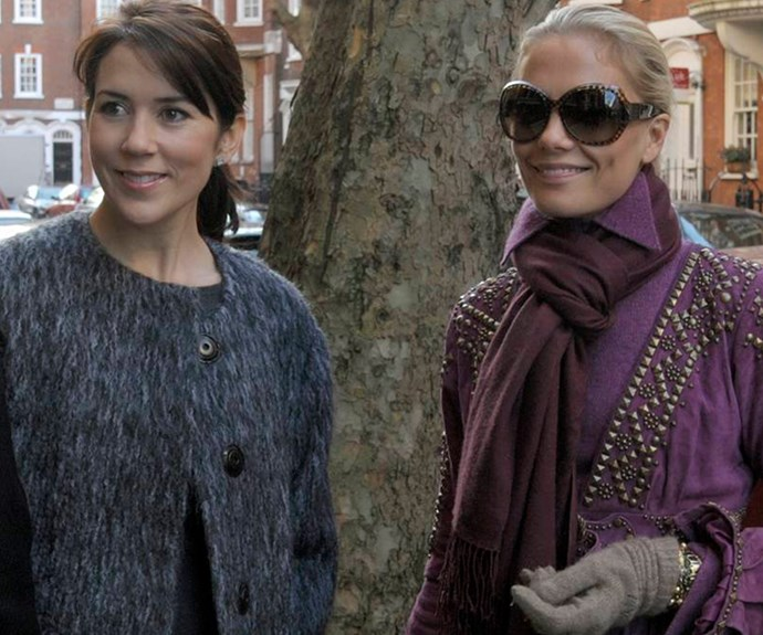 Princess Mary and Caroline Fleming