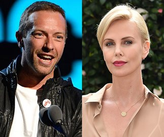 New couple alert: Chris Martin is crushing on Charlize Theron