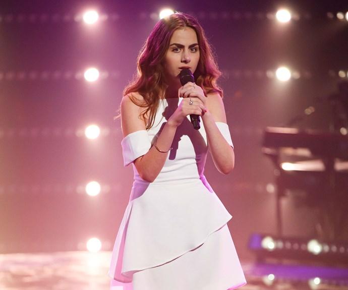 The Voice contestant Lara Nakhle