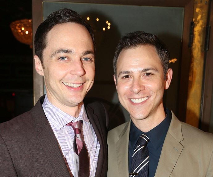 The Big Bang Theory's Jim Parsons marries long-time partner Todd Spiewak