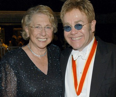 Elton John ends feud with mother after nine years