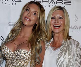 Chloe Lattanzi and Olivia Newton John