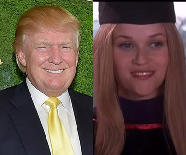 Donald Trump totally ripped off a speech from Legally Blonde and here's the evidence