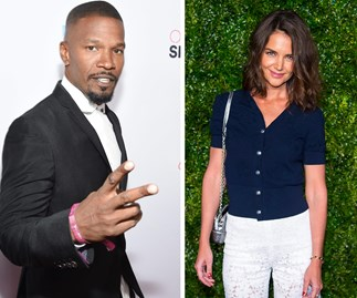 Kate Holmes and Jamie Foxx