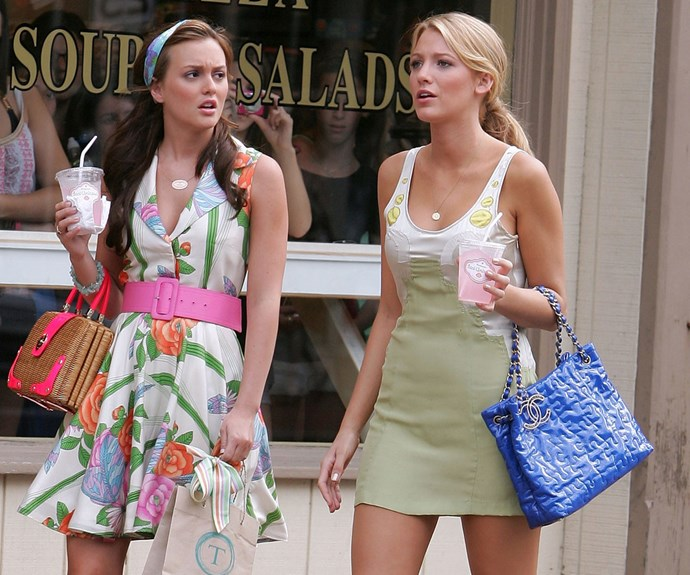 Have Blake Lively and Leighton Meester signed on for a Gossip Girl movie?