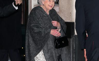 Her Majesty breaks from tradition to dine out with friends
