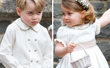 Pippa who? Royal rascals Prince George & Princess Charlotte steal the show