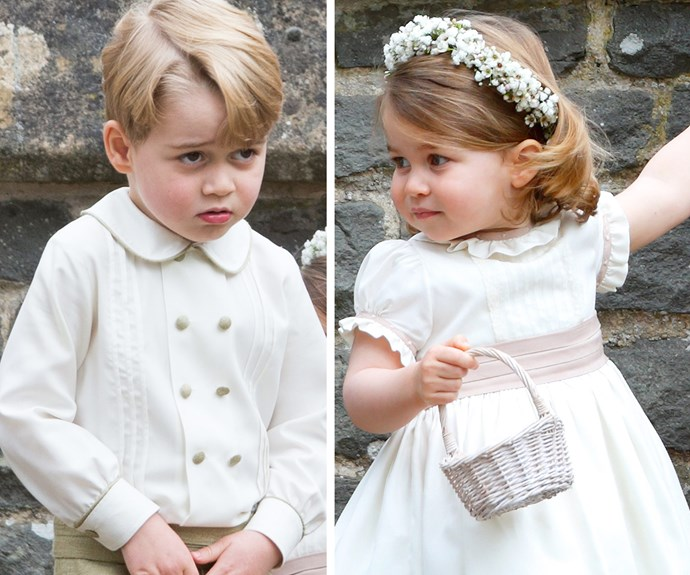 Pippa who? The Royal rascals totally stole the show at aunt Pippa Middleton's wedding last year.