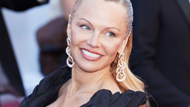Pamela Anderson is that you?! The star looks AMAZING!