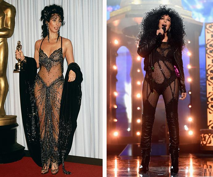Cher before after