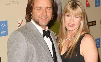 Russell Crowe and Terri Irwin