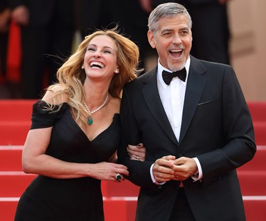 Julia Roberts has some choice parenting advice for bestie George Clooney