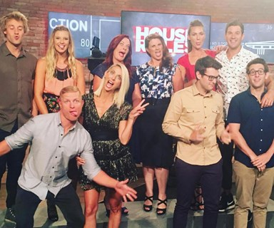 What do the House Rules contestants get up to off-screen?