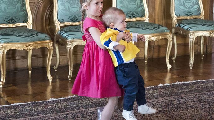 Princess Estelle and Prince Oscar