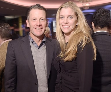 Cycling into the sunset: Lance Armstrong pops the question