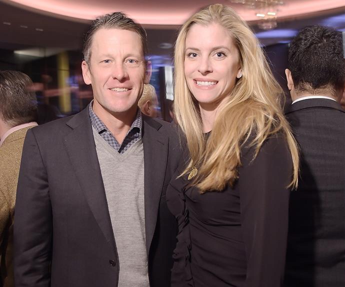 Lance Armstrong and Anna Hansen