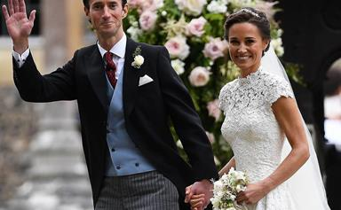 Fit for a Queen: Pippa Middleton's wedding menu revealed