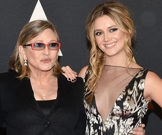 Carrie Fisher and daughter Billie