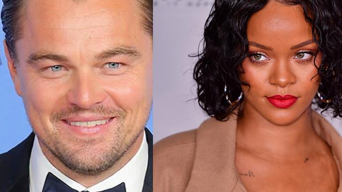 Sprung! Leonardo DiCaprio and Rihanna cosy up in Cannes