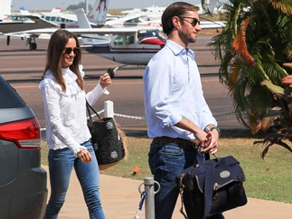 Pippa Middleton and James Matthews in Darwin