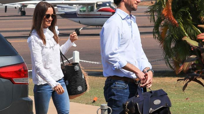 Pippa Middleton and James Matthews in Darwin