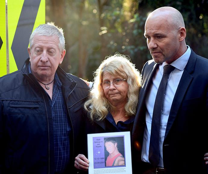 Leveson's parents never gave up hope of finding their son's body.