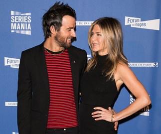 Justin Theroux and Jennifer Aniston