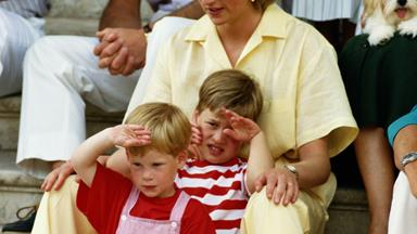 Prince William and Prince Harry speak out about the days following Princess Diana's death
