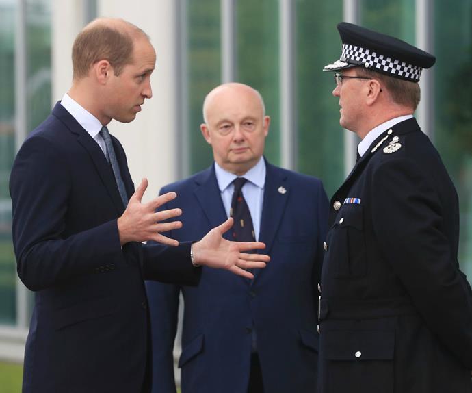 Prince William, Manchester terror attack