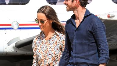 Pippa Middleton and James Matthews' tour of Oz continues to Perth